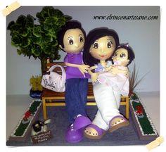 Familia de mariolas El Rincón Artesano