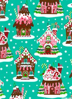 cute Christmas fabric!