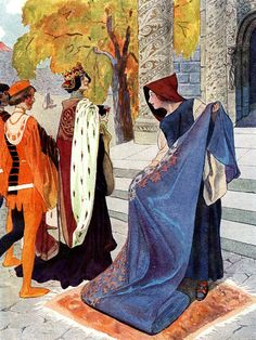 'Fairy Tales Of Božena Němcová' illustrated by Artuš Scheiner.