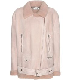 Acne Studios - Exclusive to mytheresa.com – More shearling-lined suede  jacket - 3c92998c4f0