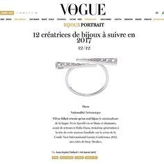 Jewellers to follow in 2017!! vogueparis thank you diamondmallard forhellip
