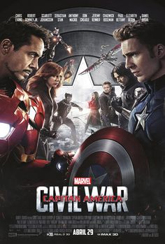 Capitán América: Civil War (2016), de Anthony & Joe Russo