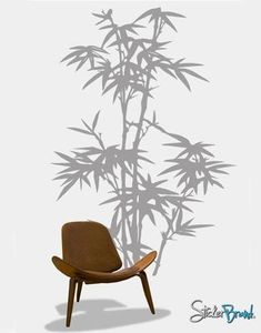 Vinyl Wall Art Decal Sticker Large Bamboo Tree #101