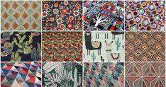 20 από τα πιο εντυπωσιακά υφάσματα επίπλωσης της αγοράς για διακοσμήσεις σε Boho και Ethnic στυλ Boho, Quilts, Blanket, Quilt Sets, Bohemian, Blankets, Log Cabin Quilts, Cover, Comforters