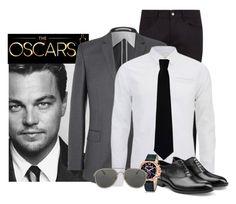 """Oscars"" by xo-panda-xo ❤ liked on Polyvore featuring Dolce&Gabbana, ECCO, Scotch & Soda, RED Valentino, Jil Sander, Just Cavalli, Dries Van Noten, men's fashion, menswear and leonardodicaprio"