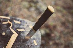 Puukko by Tapio Wirkkala, Hackman Knife Making, Knife Block, Blacksmithing, Diamond Shapes, Finland, Blade, Weapons, Objects, Tools