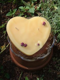 Lovecake Pure Beeswax Candle by thegreenbeesoaps on Etsy, $8.00