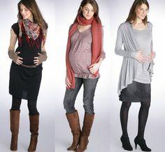 Ideas de estilo para el embarazo.  www.tendencias.com/propuestas-y-consejos