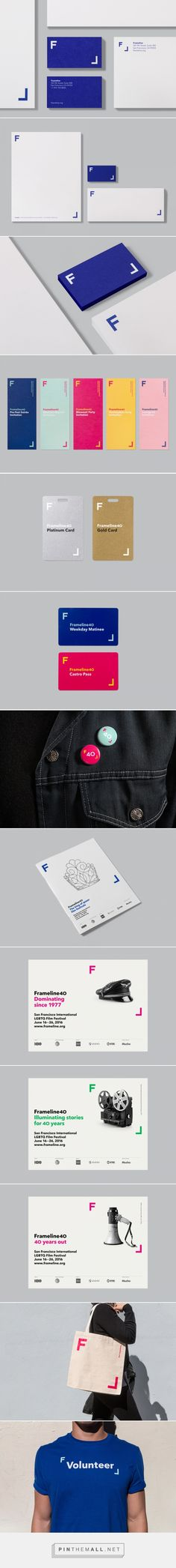 New Brand Identity for Frameline 40 by Mucho — BP&O - created via https://pinthemall.net