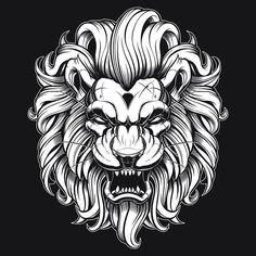 "1,996 To se mi líbí, 41 komentářů – Jared Mirabile (@sweyda) na Instagramu: ""Finished this up last night. #apexpredator #lion #vector #illustration #sweyda"""