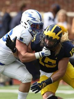 0d47ff6db60 Michigan football overcomes offensive struggles to top Air Force 29-13