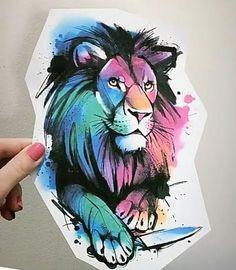 Desenho Profissional de leão