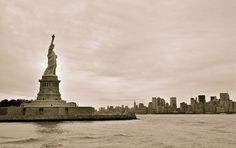 The Statue of Liberty #new_york #usa #travel