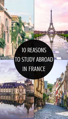 10 very good reasons to study abroad in France. Why you should just say 'oui' (yes) and go on a study abroad semester in France!