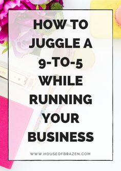 Are you currently working in a 9-to-5 or part-time job while building your business or side-hustle? Whether you want to make a full-time living from your business or you want some extra passive income while you work, click here to learn a few clever tips on how to juggle both of them.