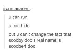 Scoobert doo