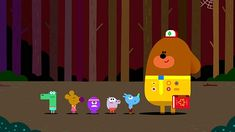 Hey Duggee (2014-) Animation Background, Game Ui, Motion Graphics, App Design, Fairy Tales, Graphic Design, Cartoon, Education, Room