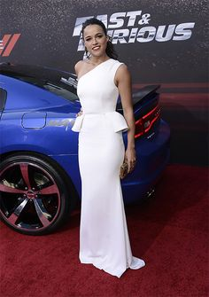 Michelle Rodriguez-LA Premiere of the Fast and Furious 6