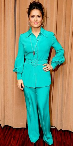 Salma Hayek Pinault in Gucci