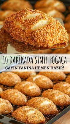 10 Dakikada Simit Poğaça Tarifi – Nefis Yemek Tarifleri – Vegan yemek tarifleri – Las recetas más prácticas y fáciles Turkish Recipes, Mexican Food Recipes, Italian Recipes, Yummy Recipes, Cake Recipes, Dessert Recipes, Yummy Food, Tasty, Healthy Food