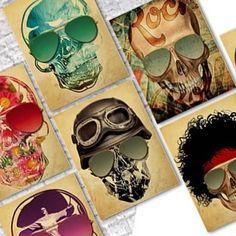 Skulls by Russ #skull #skulls #skullart