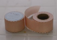 This is a roll of Japanese Water Activated Paper Tape - the concept is taken from security envelope pattern. These water activated paper tape are great for putting together packets of your handmade goods, use them for craft projects, use it as labels, gift wrap / packaging, scrapbooking - it's just so pretty, it'll make anything pop!Just wet the part you want to stick together...Listing is for the red one - other pictures are just to show usage and other patterns. $7.50