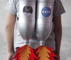 Make Your Own Jetpack | Fun & Easy Halloween DIY - Creative Handmade Costume for Kids!