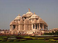India Grootste Hindu Tempel ter wereld in New Delhi