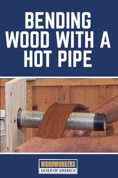 Bending wood is one of those techniques that can have a dramatic effect on a woodworking project, but many woodworkers shy away from it because it seems intimidating. Watch this demonstration by our expert woodworker George Vondriska to learn a simple, worry-free approach to bending wood quickly using a heated iron pipe.