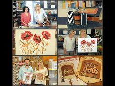Pintar al Oleo - Flores - Colores Titanatos - Claudia Kunze Alba Artistica - YouTube
