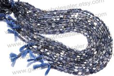 Iolite Faceted Cut Brick Quality AA / Pack by GemstoneWholesaler, $24.30