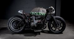 This ex-Police BMW R 80 RT has crossed over to the dark side... https://www.classicdriver.com/en/node/321250