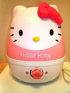 $30.00 Hello Kitty Cat Humidifer Nightlight Crane 1 Gallon Cool Mist Nursery Child Safe