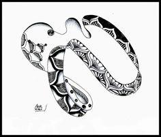 COPADA zentangle - Google Search Zen Doodle, Zentangle Patterns, Art Forms, Inktober, Tangled, Creative Art, Doodles, Cards, Inspiration