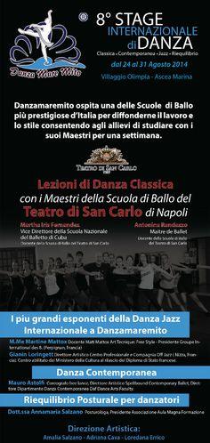 DANZAMAREMITO VIII Stage Internazionale di Danza « weekendinpalcoscenico la danza palco e web | IL PORTALE DELLA DANZA ITALIANA | weekendinpalcoscenico.it
