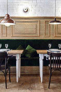 althaus restaurant + PB studio + Filip Kozarski + Gdynia, Poland