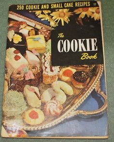 Vintage Cookbook The Cookie Book 1949 by CrazyAuntDesigns on Etsy