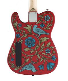 Guitar Painting, Guitar Art, Play That Funky Music, Guitar Body, Ukulele, Painted Furniture, Hand Lettering, Instruments, Hand Painted