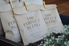 coffee wedding favors best photos - wedding favors - cuteweddingideas.com