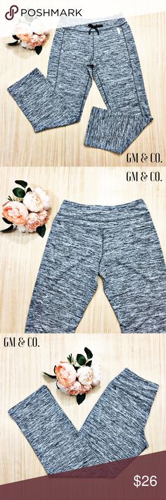 BCG Track Pants  BCG Casual Track Pants in Heather Grey. Super comfy! They have a drawstring to tighten or loosen as needed. EUC. Size: S.   Thank you for stopping by my closet. Please let me know if you have any questions. GM BCG Pants Track Pants & Joggers
