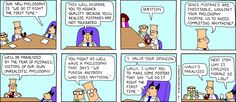 Great ideas... Er... Hijacked? - The Dilbert Strip for January 15, 1995