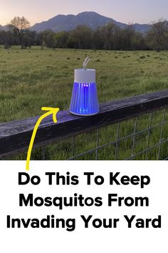 This powerful new bug light uses new technology to keep mosquitos from invading your yard, and keeps you from being bit. Outdoor Projects, Garden Projects, Mosquito Yard Spray, Bug Spray Recipe, Insecticide, Outdoor Fun, Outdoor Spaces, Cool Gadgets To Buy, Patio