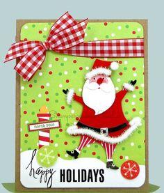 "Santa says: ""Happy Holidays,"" everyone!"