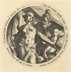 Judith with the Head of Holofernes, Hendrick Goltzius (Netherlandish, Mühlbracht Haarlem), Engraving Antique Illustration, Pencil Illustration, Judith And Holofernes, Bible Tattoos, Arte Obscura, Figure Drawing Reference, Classical Art, British Museum, Ancient Art