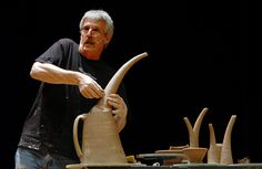 Bill van Gilder----One of the many potters I admire!
