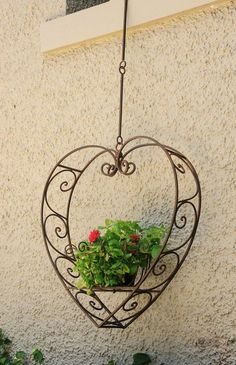 The Complete Garden:: Hanging Heart Plant Holders