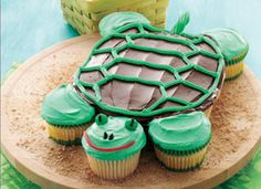 Another cute turtle cake