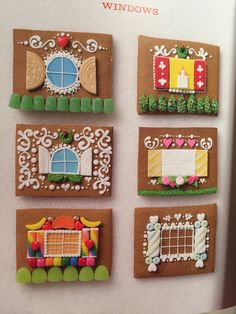 Really cool gingerbread houses - make in progress = ) Graham Cracker Gingerbread House, Gingerbread House Template, Gingerbread House Designs, Gingerbread House Parties, Gingerbread Village, Christmas Gingerbread House, Christmas Sweets, Christmas Goodies, Christmas Crafts
