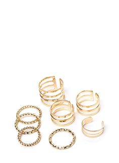 Cut it out and get your little fingers on this eight piece ring set. ;)