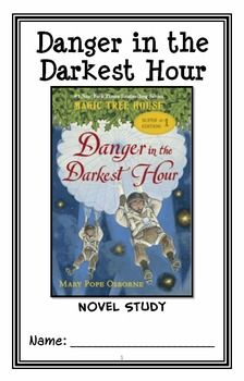 Danger in the Darkest Hour : Magic Tree House Special Edition #1 Novel Study * Follows Common Core Standards *  This 42-page booklet-style Novel Study is designed to follow students throughout the entire book.  The questions are based on reading comprehension, strategies and skills. The novel study is designed to be enjoyable and keep the students engaged.